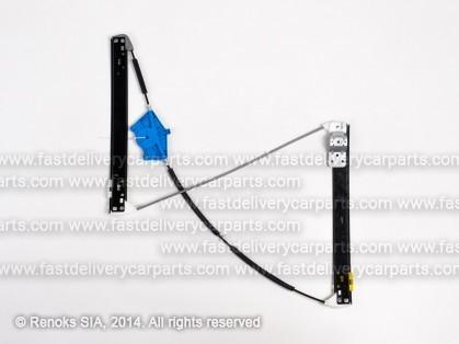 AD A4 01->04 loga pacēlāja mehānisms priekšas L elektro bez motoriņa